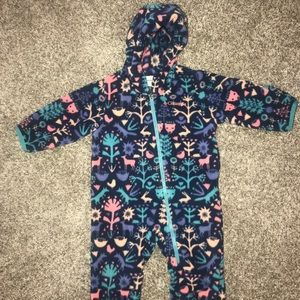 Columbia Fleece One Piece 3-6 months